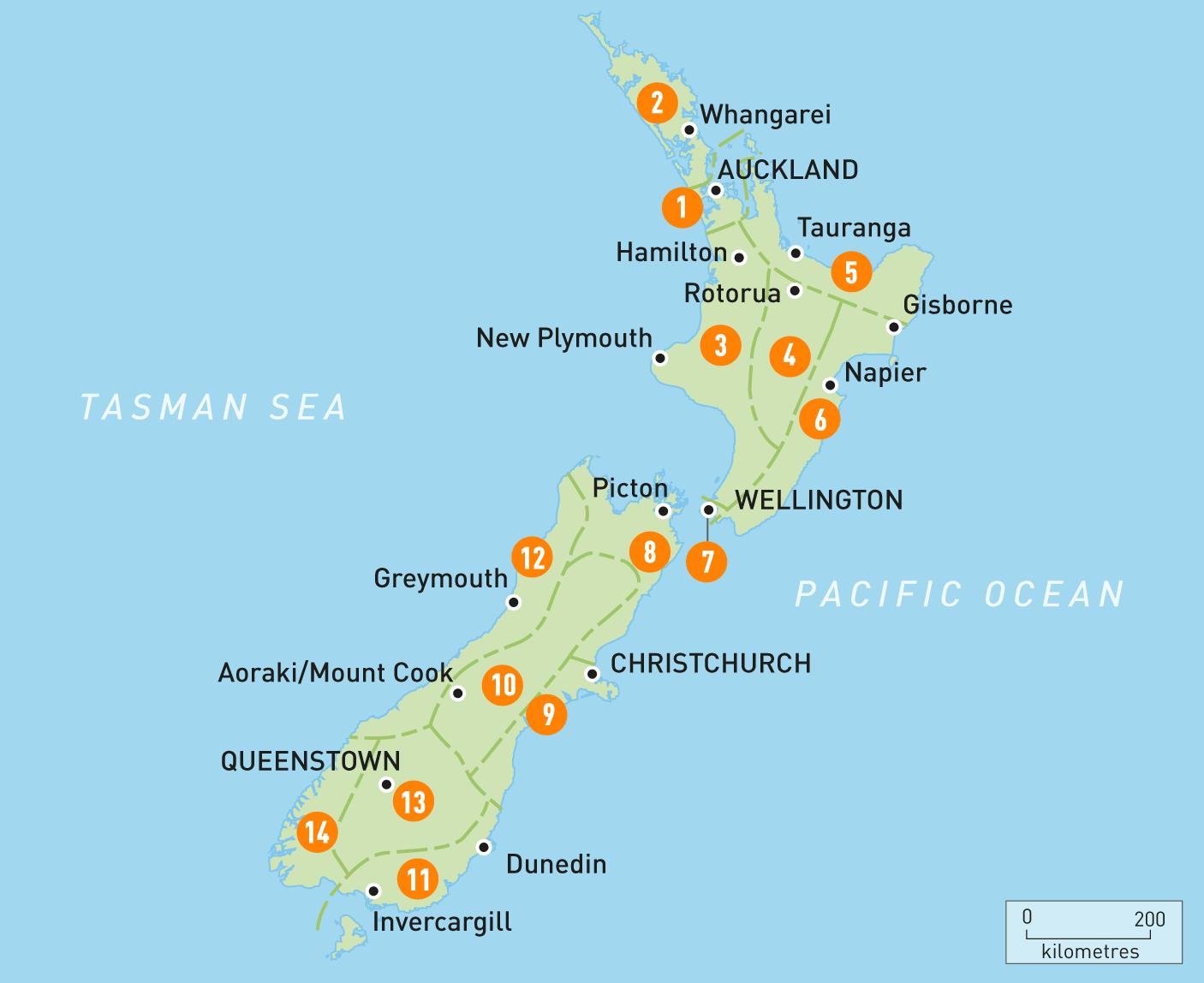Gographie De La Nouvelle Zlande