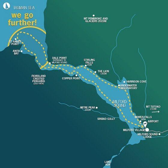Tourism-Mitre-Peak-Milford-Map