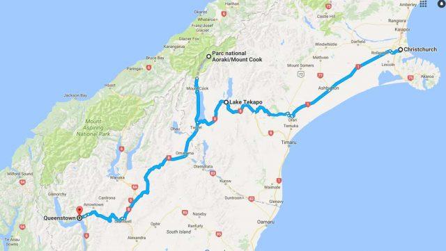 itineraire-lake-tekapo