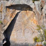 maori-rock-cravings-taupo-lake