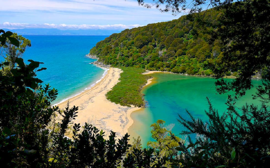 Nouvelle Zélande plage