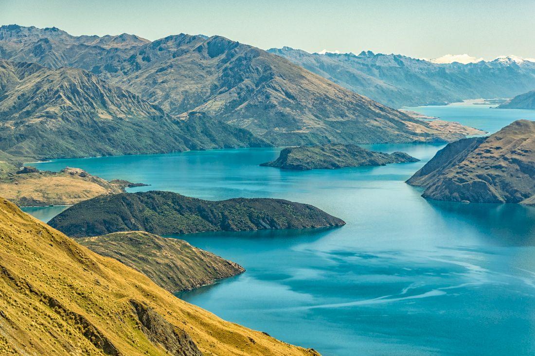 Nouvelle Zélande Photo: Les Plus Beaux Lacs De Nouvelle-Zélande
